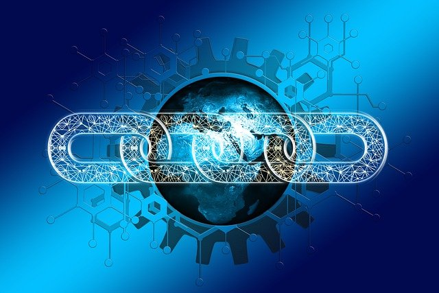 Chain Network Earth Block Chain  - geralt / Pixabay