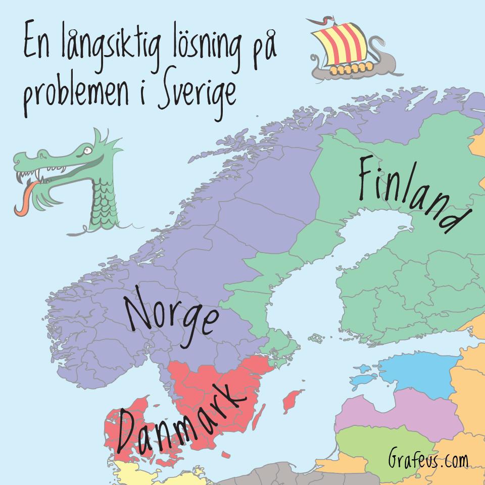 En långsiktig lösning på problemen i Sverige 16