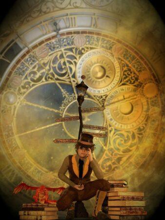 Fantasy Man Steampunk Clockworks  - flutie8211 / Pixabay