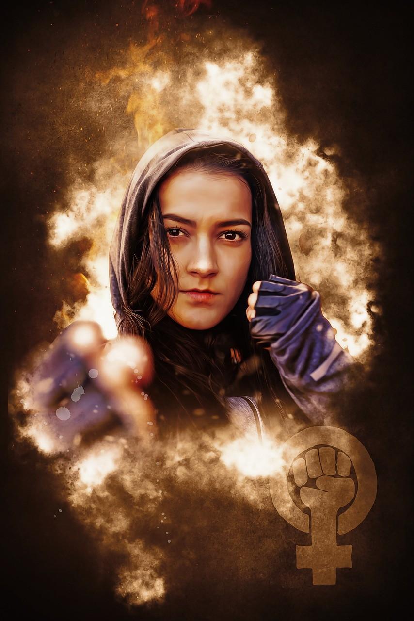 Feminist Feminism Portrait Fantasy  - darksouls1 / Pixabay